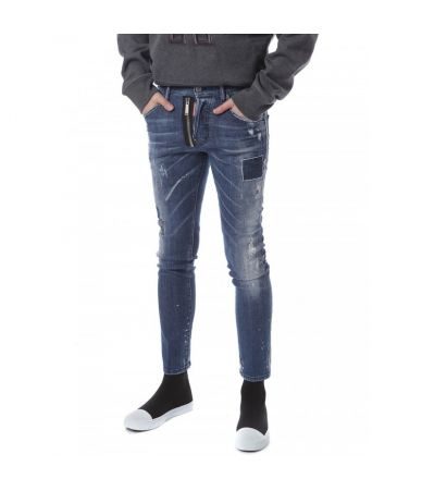 Blugi barbat, Dsquared2 Skater Jeans, Skinny