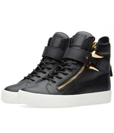 Giuseppe Zanotti, Shark Tooth Sneaker, black