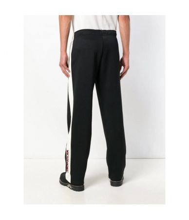 Pantaloni sport, Moncler Grenoble, Banda Alba, Logo