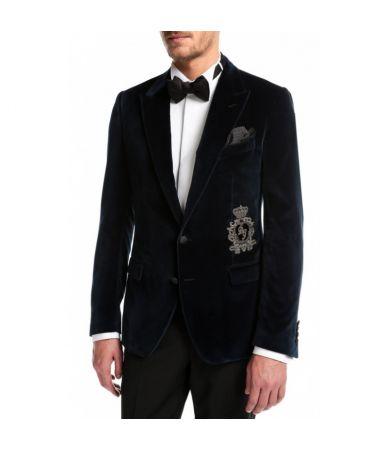 Sacou barbat, Dolce & Gabbana, Brodat
