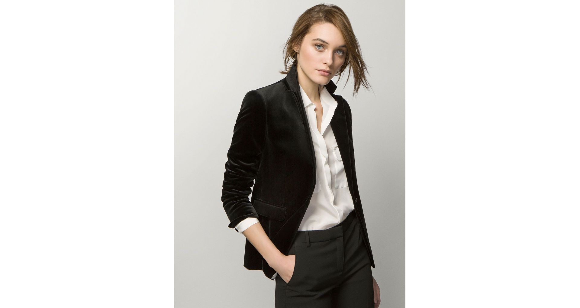 Luxury, affordable, low-budget ladies' blazers