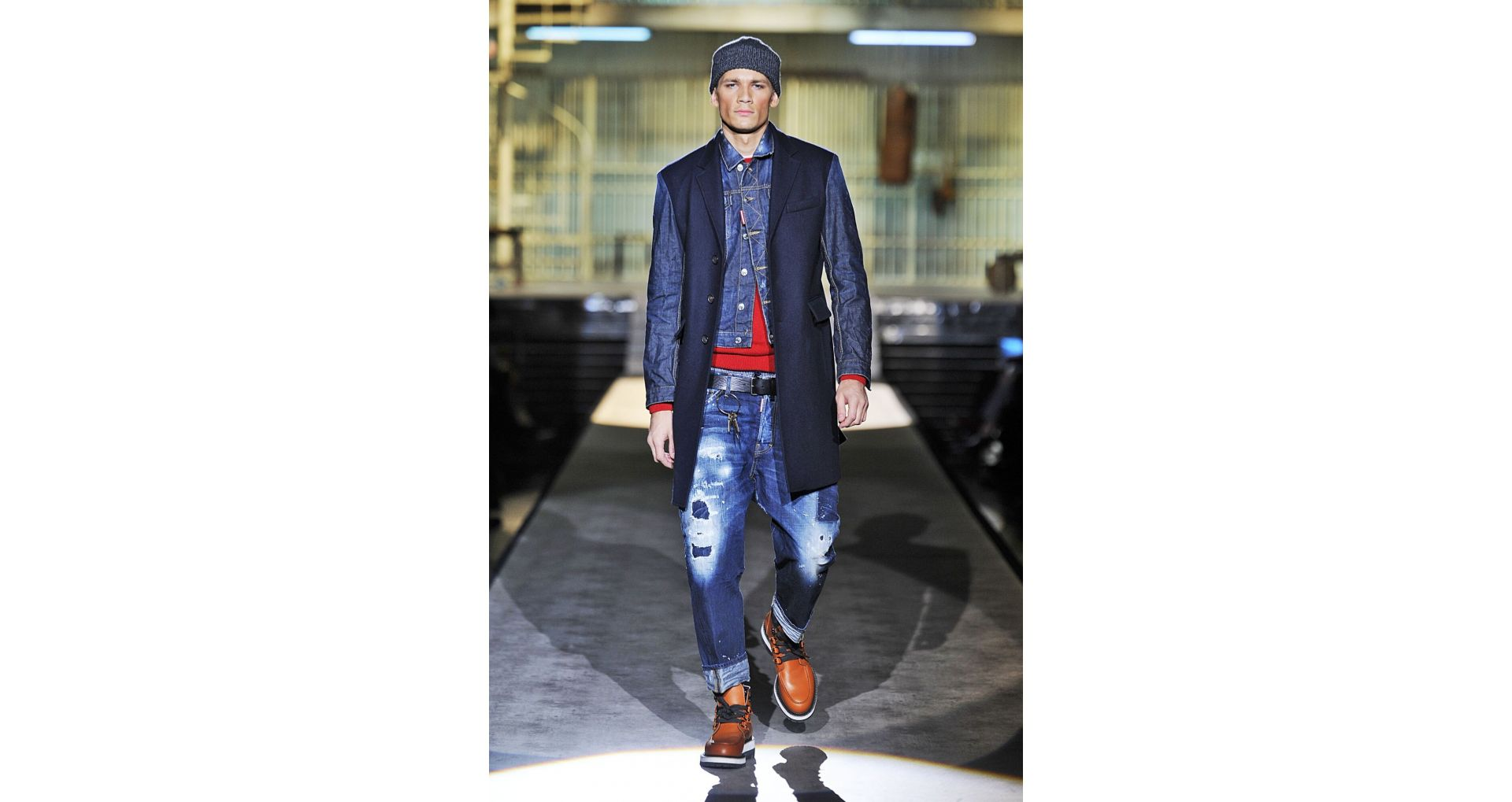 New men's jeans collections from the big fashion houses
