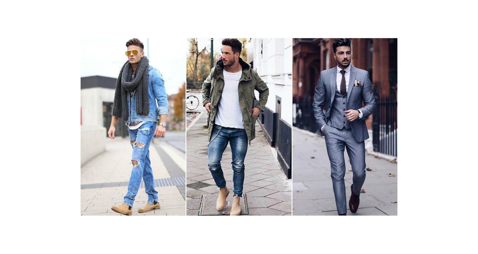 The latest clothing trends for men